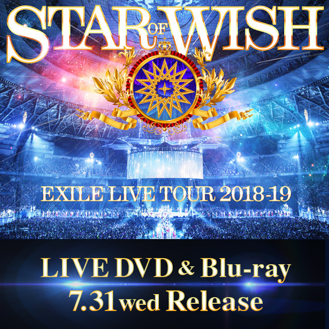 """STAR OF WISH"" LIVE DVD & Blu-ray"