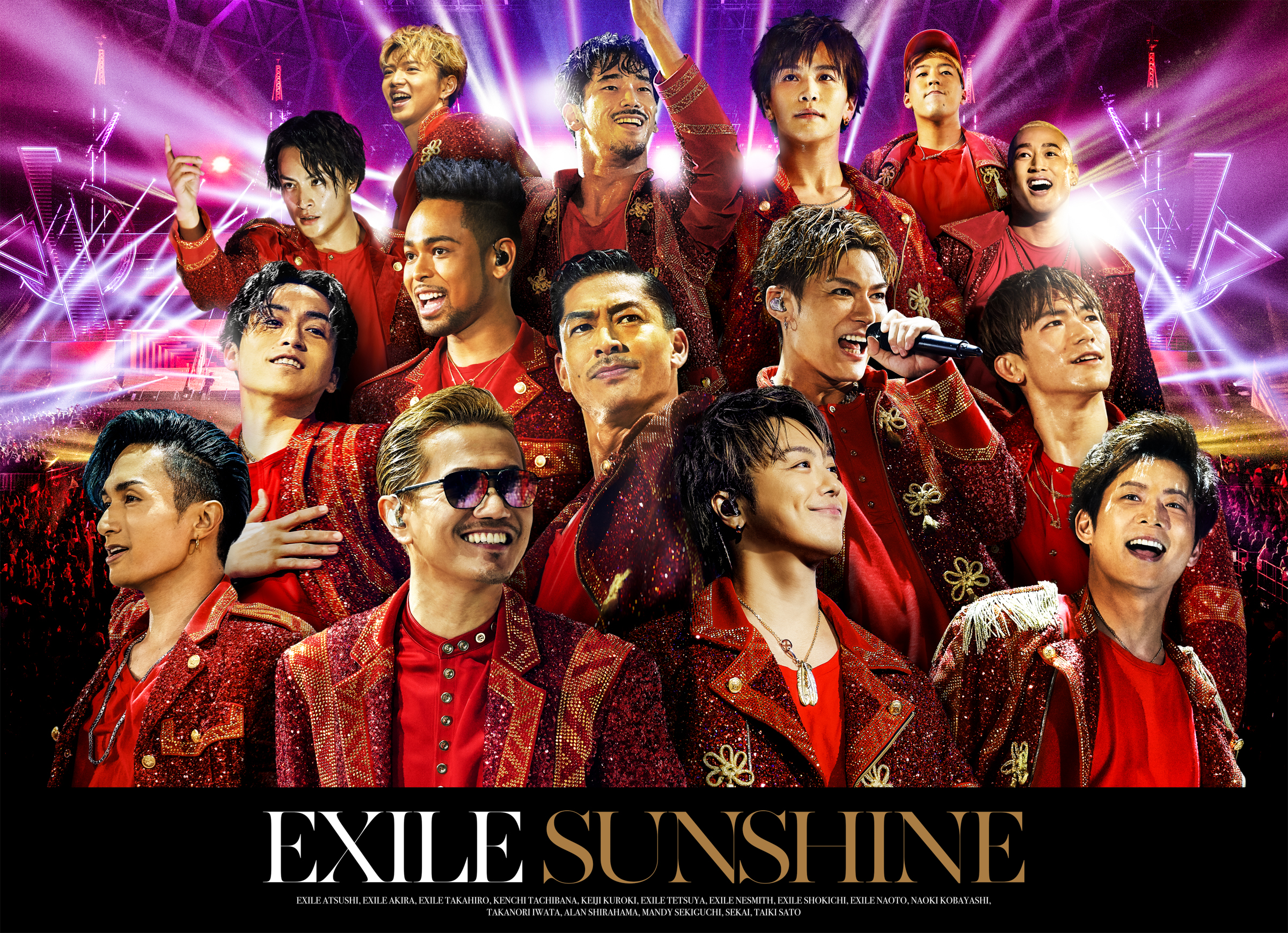 EXILE New Single「SUNSHINE」