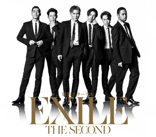 EXILE THE SECONDスリーブケースCD