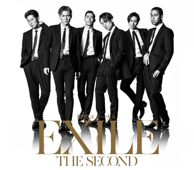 EXILE THE SECONDスリーブケースCD+DVD