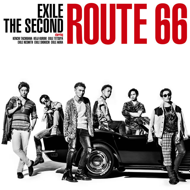 EXILE THE SECOND New Single Route 66 9/27(水)発売決定