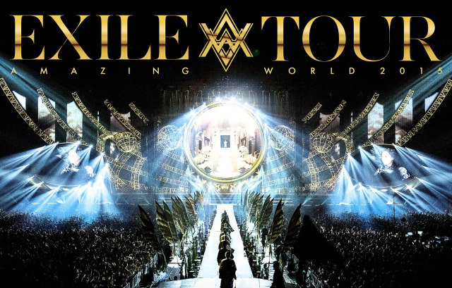 """EXILE LIVE TOUR 2015 """"AMAZING WORLD"""" LIVE DVD&Blu-ray 2016/4/13リリース決定!"""