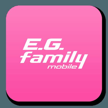E.G.family mobileにご登録の方