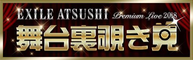 EXILE ATSUSHI PREMIUM LIVE 2018 覗き見